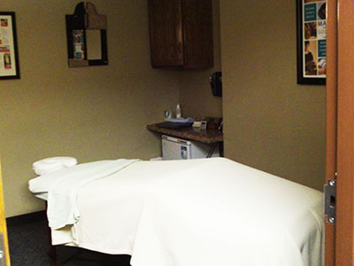 Chiropractic Cottage Grove MN Massage Room