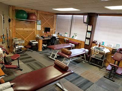 Chiropractic Cottage Grove MN Treating Area