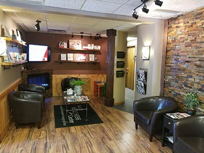 Chiropractic Cottage Grove MN Waiting Room