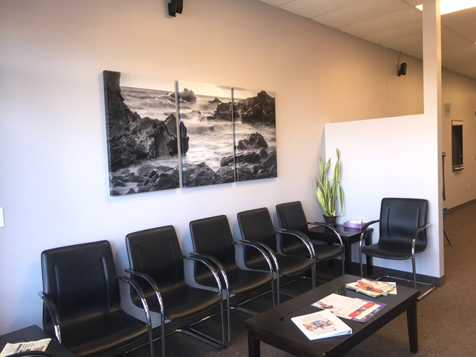 Chiropractic Hugo MN Waiting Room at The New Art Of Chiropractic